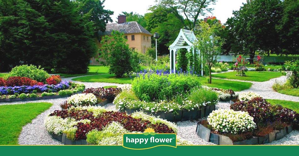 10 tipos de jardín y sus características   Consejos Happy Flower